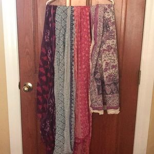 Assorted AE scarves